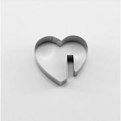 Cortante Corazón Taza 5,5cm Cutter
