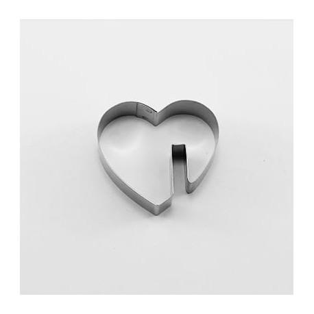 Cortante Corazón Taza 5cm Cutter