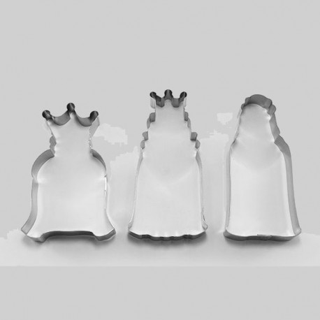 Cortantes Reyes Magos 3ud Cutter
