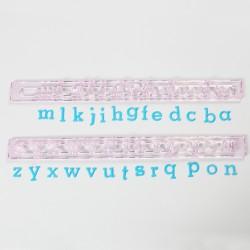 Cortantes Alfabeto Minúsculas FMM