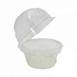 Caja 1 Cupcake Plástico 10ud