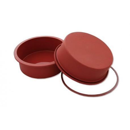 Molde Silicona Redondo 18cm h: 4cm Silikomart
