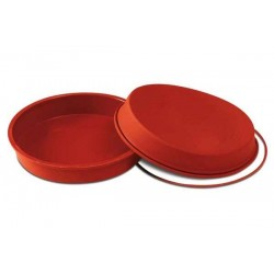 Molde Silicona Redondo 24cm h: 4,2cm Silikomart