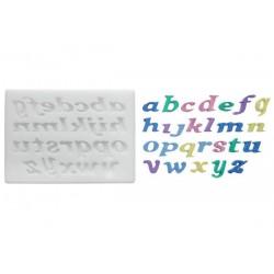 Molde Silicona Alfabeto Minúsculas Silikomart