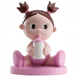 Figura para Tarta Bebé con Biberón