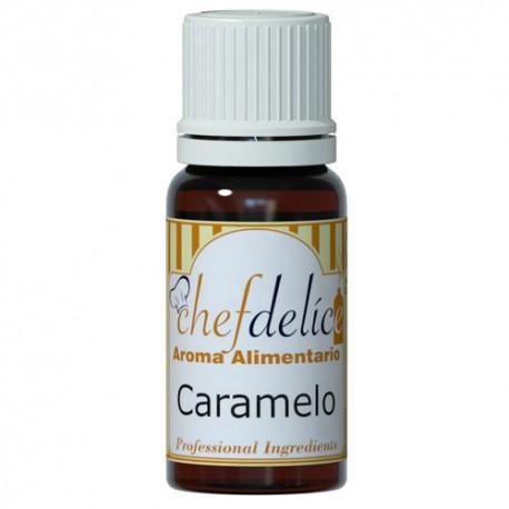Aroma de Caramelo 10ml Chef Delice