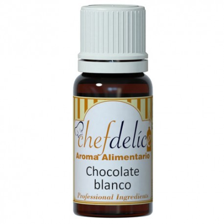 Aroma de Chocolate Blanco 10ml Chef Delice