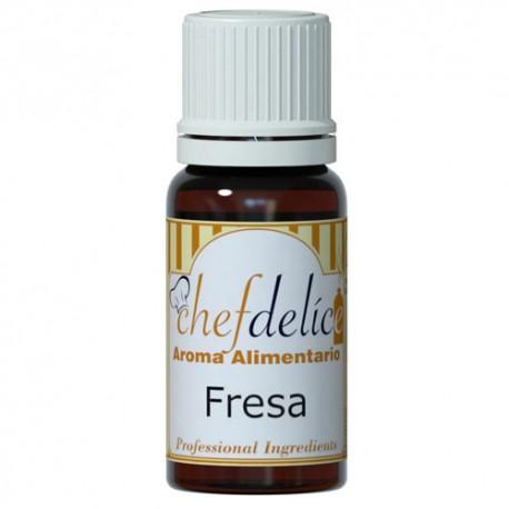 Aroma de Fresa 10ml Chef Delice
