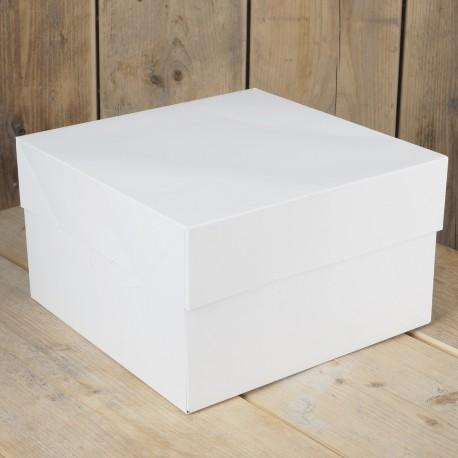 Caja Blanca para Tartas 30X30X15cm Funcakes