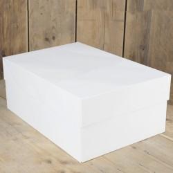 Caja Blanca para Tartas 40X30X15cm Funcakes