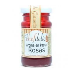 Aroma en Pasta de Rosas 50gr Chef Delice