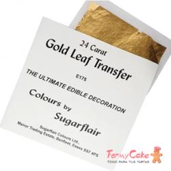 Lámina de Oro 24 Quilates Sugarflair