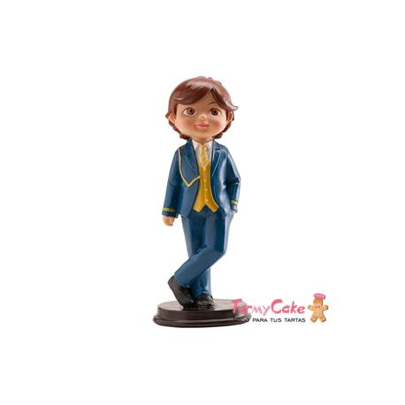 Figura Comunión Niño Marinero 16cm Dekora