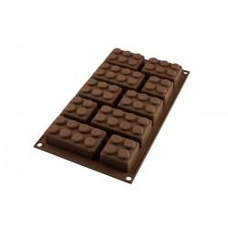 Molde Silicona Choco Block Silikomart