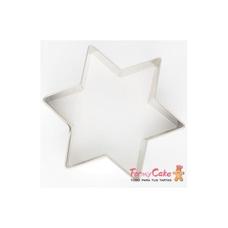 Cortador Galleta Estrella 8cm