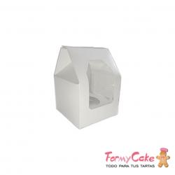 Caja 1 Cupcake Blanca