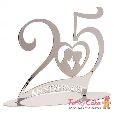 Figura 25 Aniversario Bodas de Plata Dekora