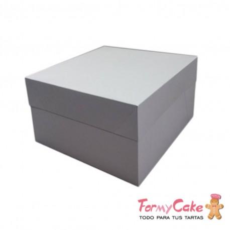 Caja Blanca para Tartas 30x30x15cm FormyCake