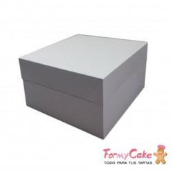 Caja Blanca para Tartas 40x40x15cm FormyCake