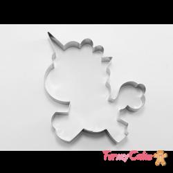 Cortante Unicornio Arcoiris 12cm Cutter