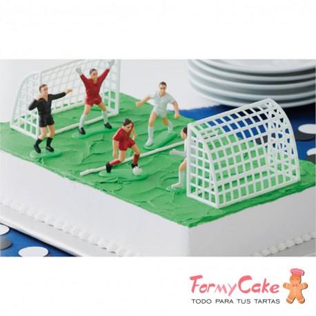 Kit Fútbol para Tartas 9 Piezas Wilton