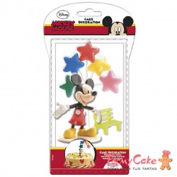 Kit Mickey Mouse, Globos y Banco Dekora
