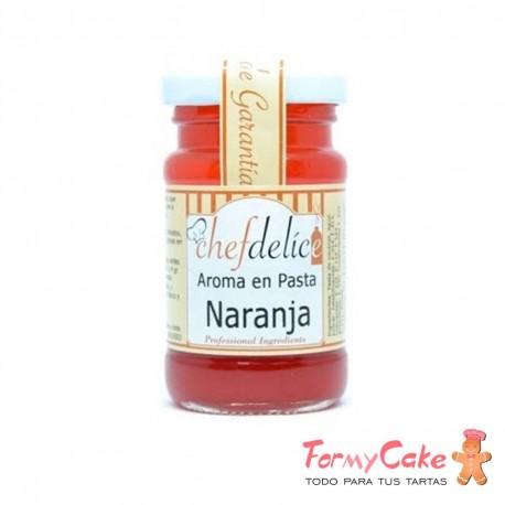 Aroma en Pasta de Naranja 50gr Chef Delice