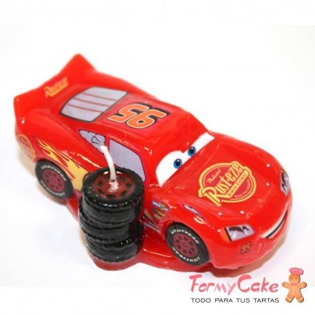 Vela Cars 3D, 7cm Dekora